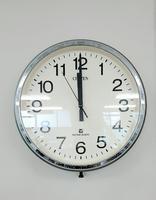 準備室の時計