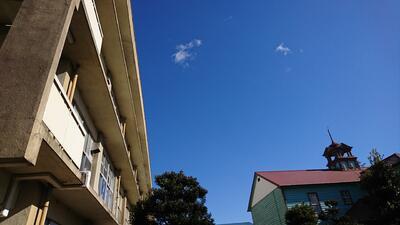 松高から見える空の写真