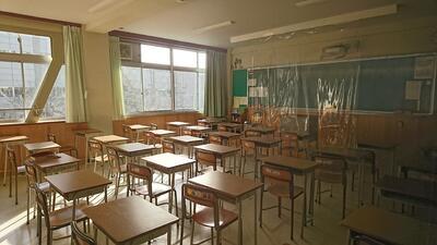 静かな教室