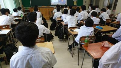 松高塾(ジェンダー)のようす